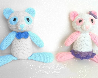 ANY COLOR(S) Boys or Girls Amigurumi Bear