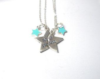 Best Friends Necklace Set ,BFF set, bff necklaces,friendship Necklace, Mother daughter jewelry set, gyspy boho chic bohemian steampunk