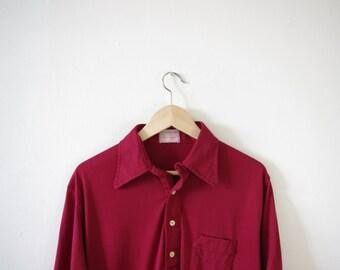 Vintage Red Ben Hogan Shirt