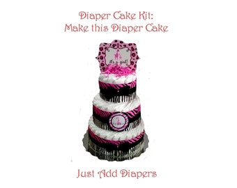 Diaper Cake DIY Kits