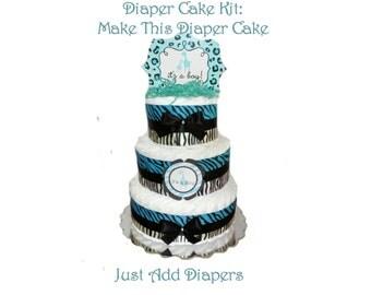 Diaper Cake DIY Kits