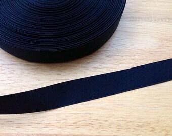 5 yards 7/8 inch black grosgrain ribbon - black ribbon, grosgrain ribbon, black grosgrain ribbon, hair bows, hair accessories