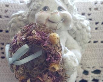 Vintage Dreamsicles Cherub Angel Cast Art By Kristin Haynes