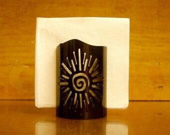 Spiral Sun Napkin Holder - 3001 - Decorative Metal Napkin Holder