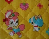 Quilted Japanese fabric, 100% cotton, 108 x 50 cm