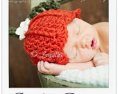 Pumpkin crochet hat pattern - 7 sizes included - preemie to adult - PDF2 digital download