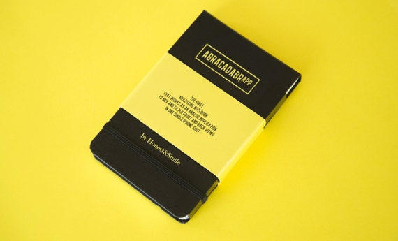 ABRACADABRAPP / 1st Moleskine Notebook and Analog App for iPhone