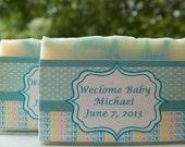 Baby Shower SOAP Favor | Bridal Shower SOAP Favor | Large Soap (10)  | Wedding soap favor  |  Weddings Shower Soap Favor | Christening favor