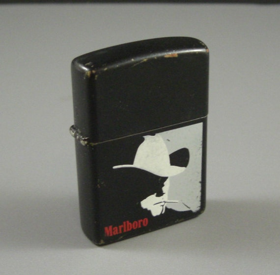 Marlboro Man Zippo Lighter // 1992 Premium // from