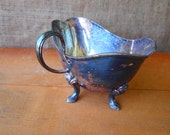 Silver Plated Vintage Gravy Boat