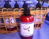 Sandalwood Patchouli Shea Hand Body Lotion Essential Oil Blend Vegan Vegetarian Gluten Free