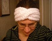 Chunky Turban Headband - White, Yellow, Pink, Denim, Tan, Purple, Green, Lime - Order Now - Handknit