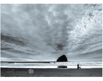 Pacific City Solitude at the Oregon Coast (8x12 print) (near Tillamook, Oceanside, Lincoln City) Canvas, metallics and other sizes available