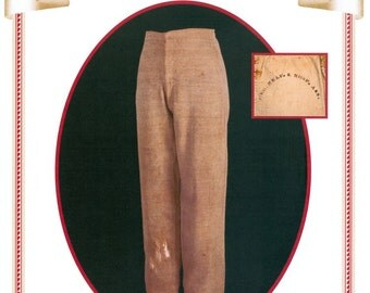 502 Peachtree Mercantile, Confederate Trouser c. 1863-65,  Boys 8-18