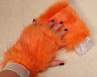 Furry Wrist Cuffs