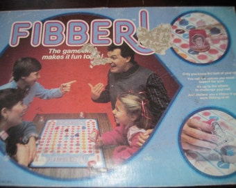 1986 Fibber! Board Game / Not Included in Sales