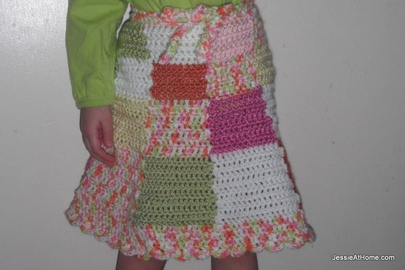 Amelia a crochet skirt pattern sizes toddler to by ...