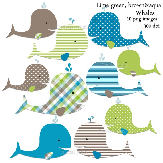 clipart baby shower whale - photo #39
