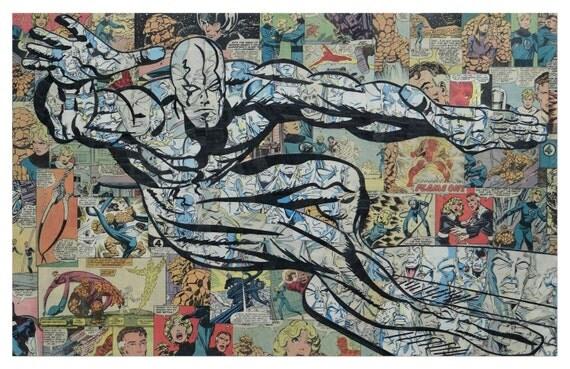 Silver Surfer Print 11x17