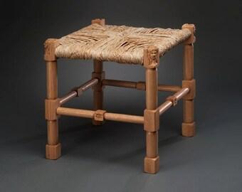 Medieval Rush Seat Stool #2 & Rush seat stool | Etsy islam-shia.org