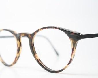 Unique Vintage Tortoise P3 Eyeglass Frames Retro Eyeglasses Stylish Eyewear