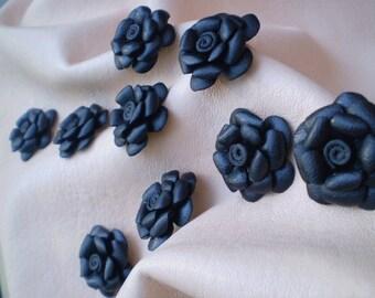 Leather flower Skyler.