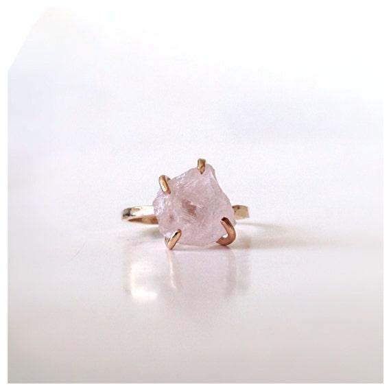 Rose Quartz Wedding Rings 019 - Rose Quartz Wedding Rings