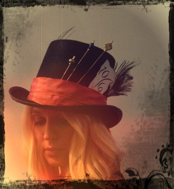 Custom Mad Hatter Top Hat