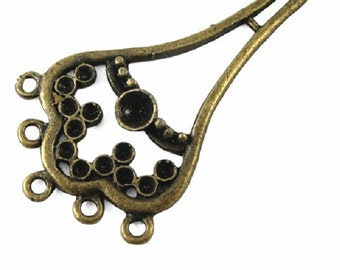 4pc antique bronze Chandelier Component/connector-7208C