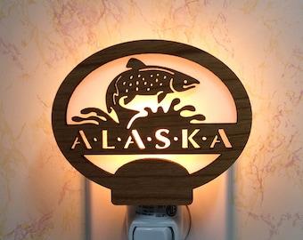 Alaska Salmon Night Light