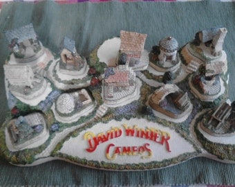 David Winter Cameos, A Diorama,  Vintage Collection  ECS