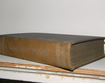 1930s Tolstoy, War and Peace