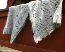 Edwardian  Lace Stole knitting pattern