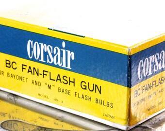 Vintage Corsair BC Fan-Flash Gun EJ Korvette