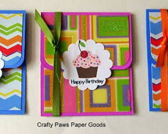Gift Card Holders - Birthday, Thank you, Just for You