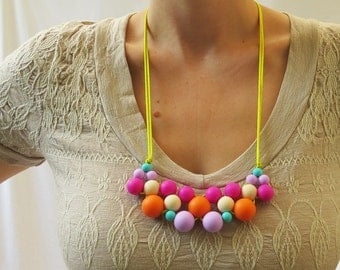 Cluster Necklace – Galaxy