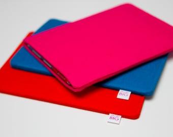 e-reader Kindle, Kobo, Sony cover in bright colour wool felt