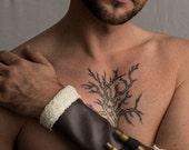 Men's Steampunk Bullet Bracer