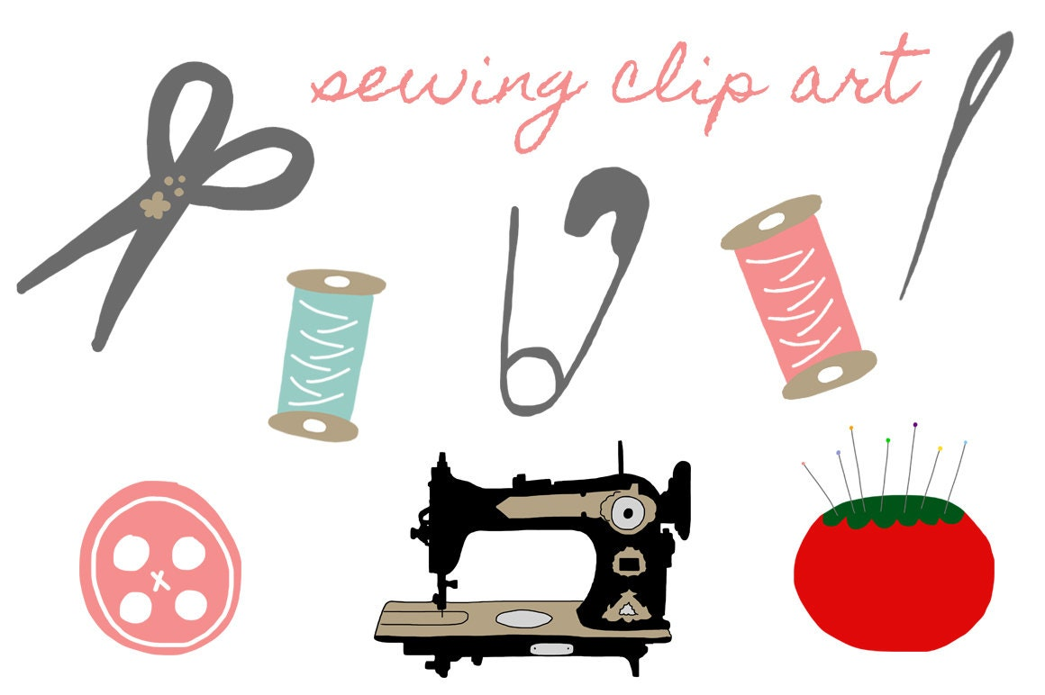 sewing machine clipart free