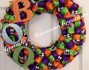 BOO-tiful Halloween Wreath