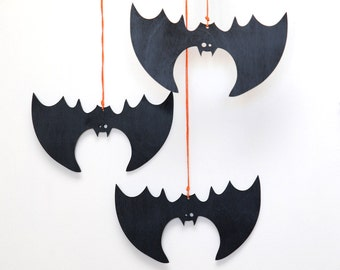 bat set halloween decorations halloween window decorations halloween mantle decor outdoor halloween decorations halloween door decor - Bat Halloween Decorations