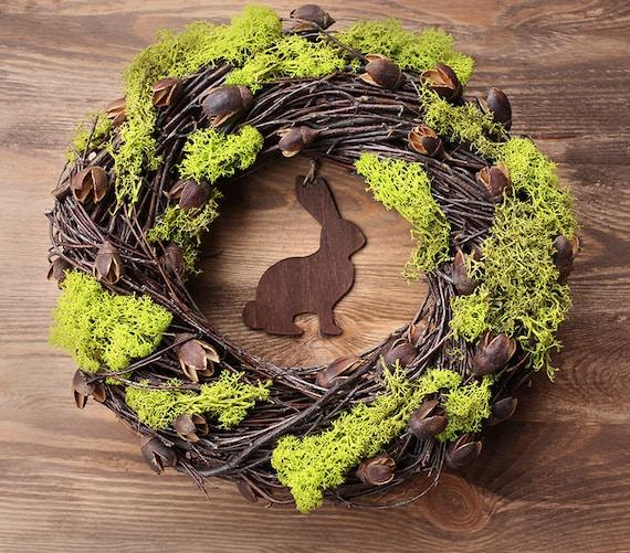 Rustic Easter Wreath Ii 11 5 Home Decor Spring Door