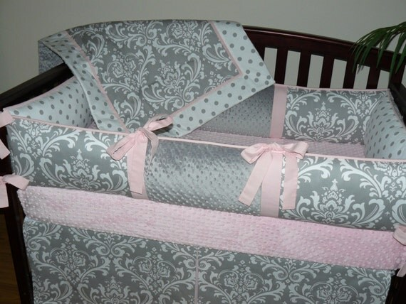 crib blanket baby blanket light baby pink by custombabycreations. Black Bedroom Furniture Sets. Home Design Ideas