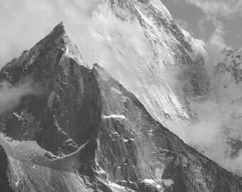 Himalaya Mountain Landscape Fine Art Photography , Home Decor , Wall Art , Spring - Himalayan Peaks #2 , 8 X 12