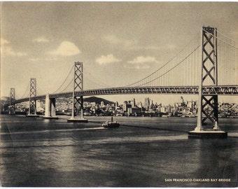 Vintage Jumbo Postcards - 2, San Francisco