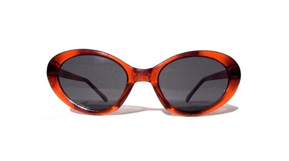 Vintage 1980s Cat Eye Sunglasses, Amber Tortoise Shell Cateyes, Deadstock Cateye Sunglasses, 80s Classic Cat Eyes