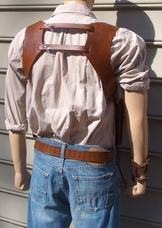 Double Revolver Shoulder Holster Issues The Firing Line