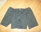 Made Just For You - 2 pair Girls Gauchos Black