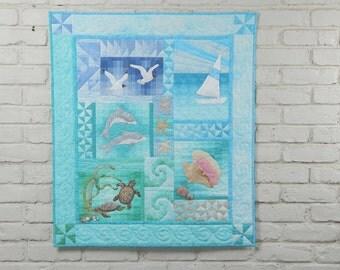 Ocean Quilt Kit