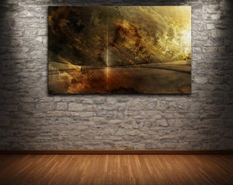 """48"""" x 32"""" Abstract canvas wall art giclee print  Large  fully stretched and ready to hang by Robert Hawk"""